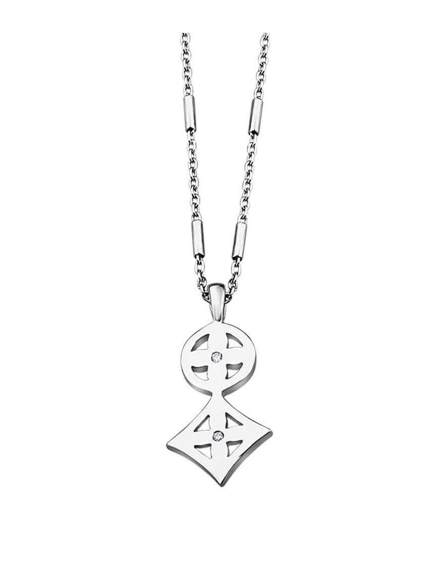 Collar Lotus Silver mujer LP1274-1/1