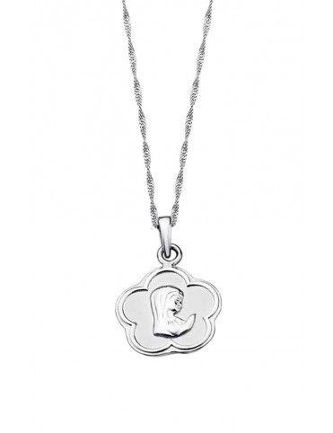 Collar Lotus Silver niña LP1265-1/1