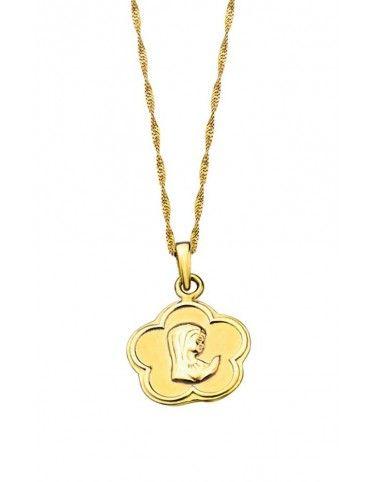 Collar Lotus Silver niña LP1265-1/2