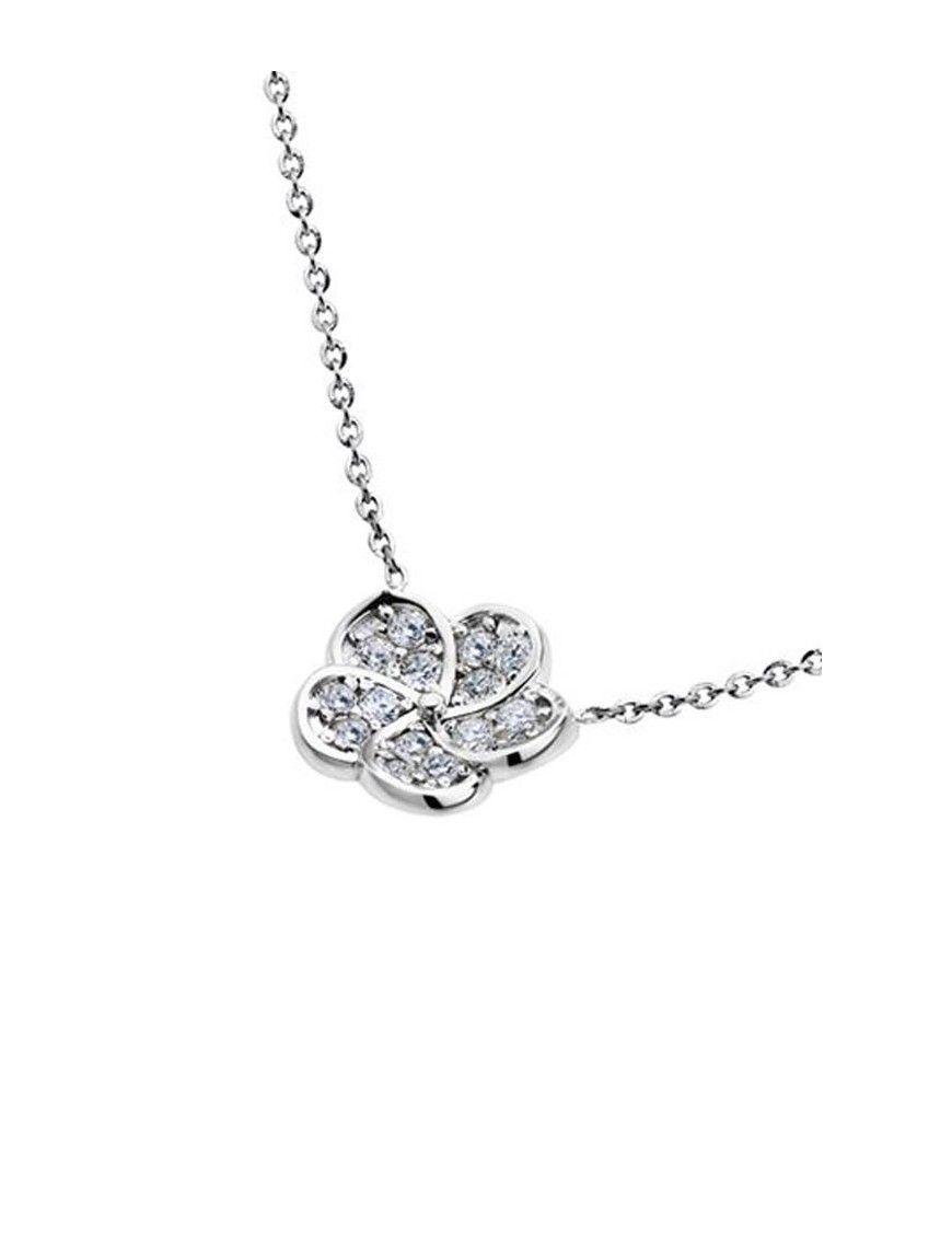 Collar Lotus Silver mujer LP1287-1/1