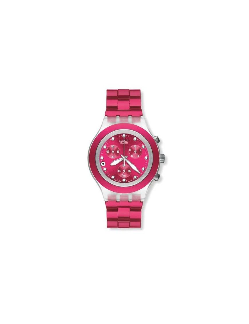 RELOJ SWATCH FULL BLOODED RASPBERRY SVCK4050AG