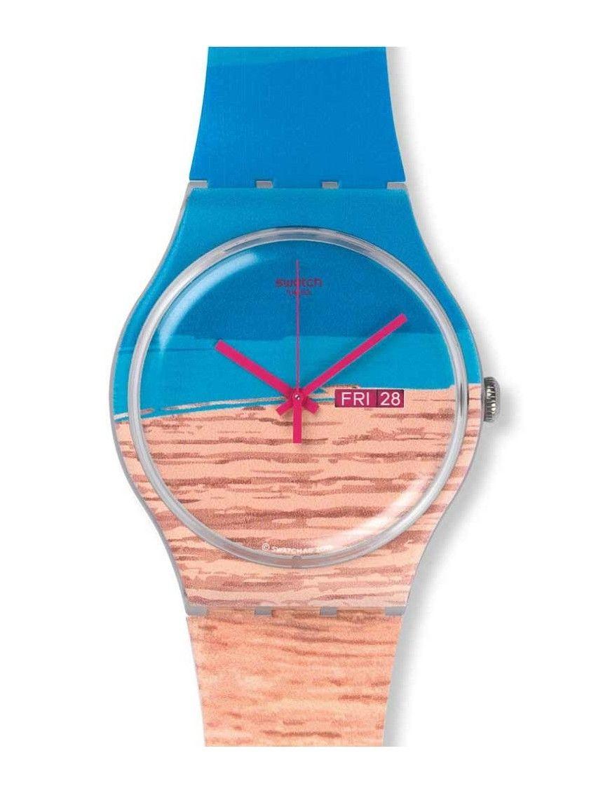 Reloj Swatch hombre SUOK706 Blue Pine