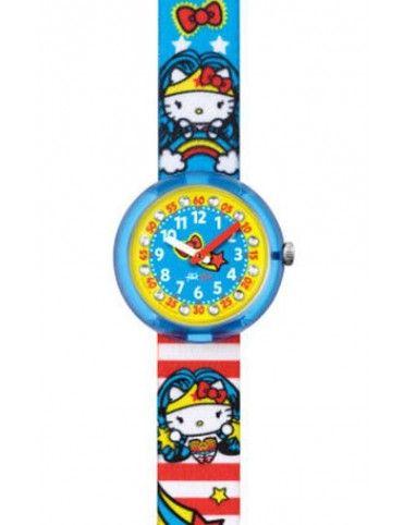 Reloj Flik Flak niña FLNP018 Hello Kitty Wonder Woman