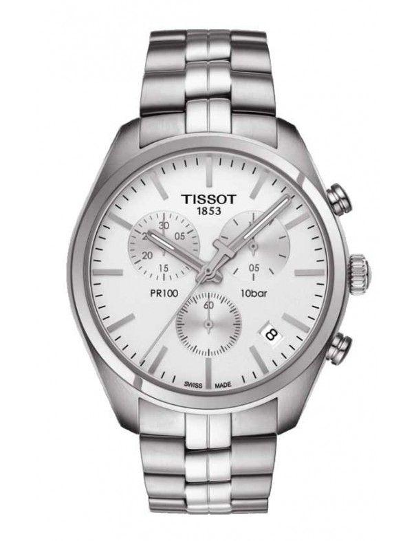 Reloj Tissot hombre t1014171103100 Colección PR 100