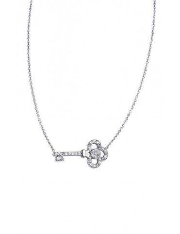 Collar Lotus Silver mujer LP1504-1/1