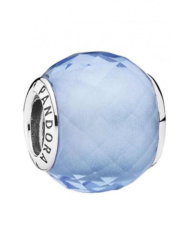 Charm Pandora plata Pequeño facetado azul 791499SBQ