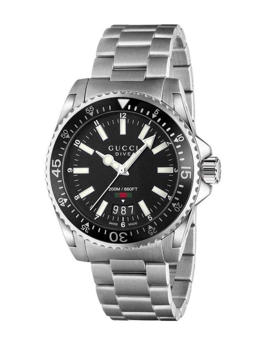 Reloj Gucci Hombre YA136301 Colección Dive.
