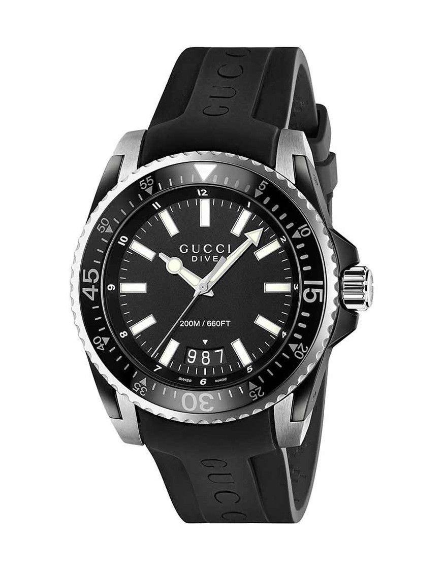 Reloj Gucci hombre YA136204 Colección Dive