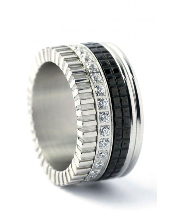 Anillo Anartxy acero mujer AAN34