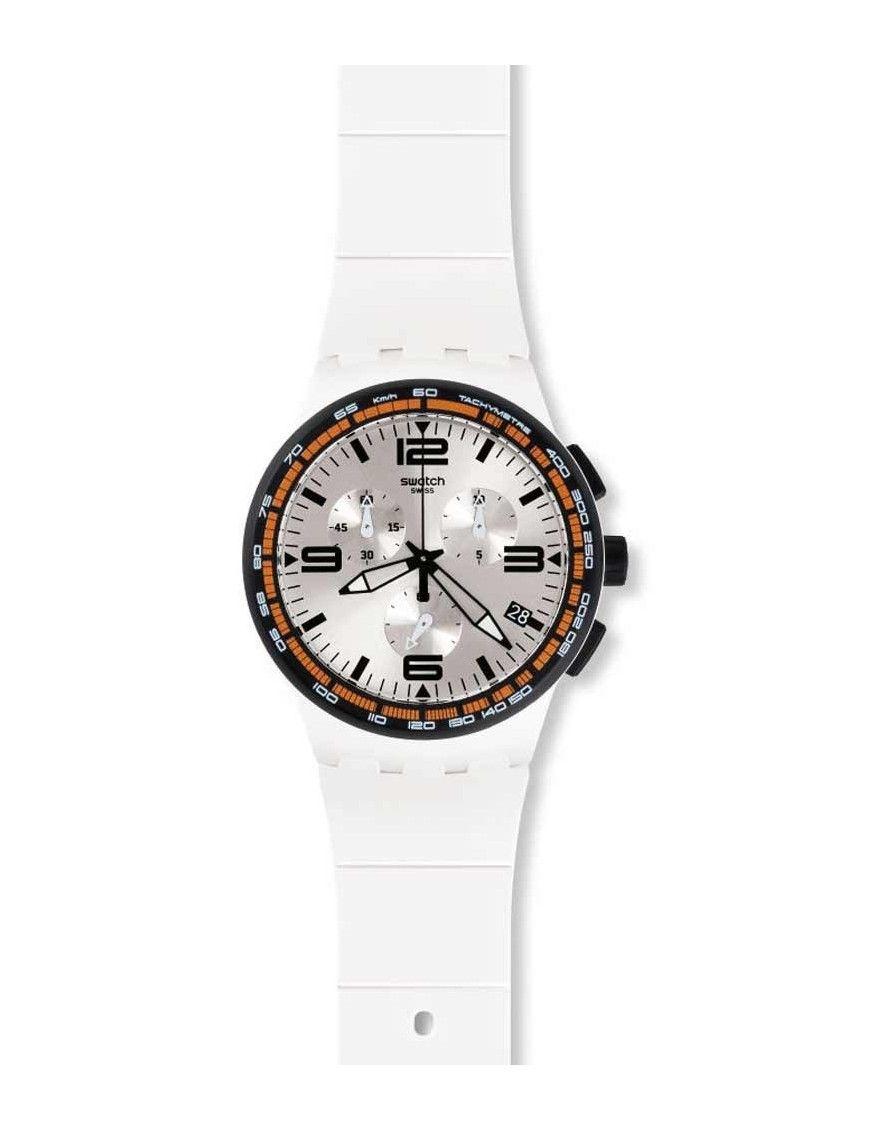 Reloj Swatch hombre White Blades SUSW405