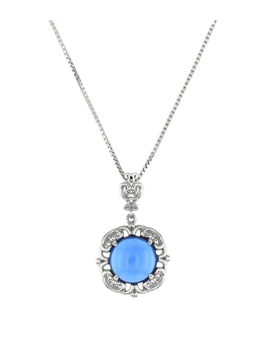 Collar plata mujer PS6070BLQ&VE 0,15-42