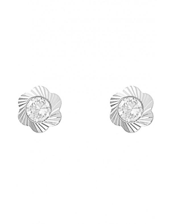 Pendientes Oro blanco 18Kts niña 61B1101/3T