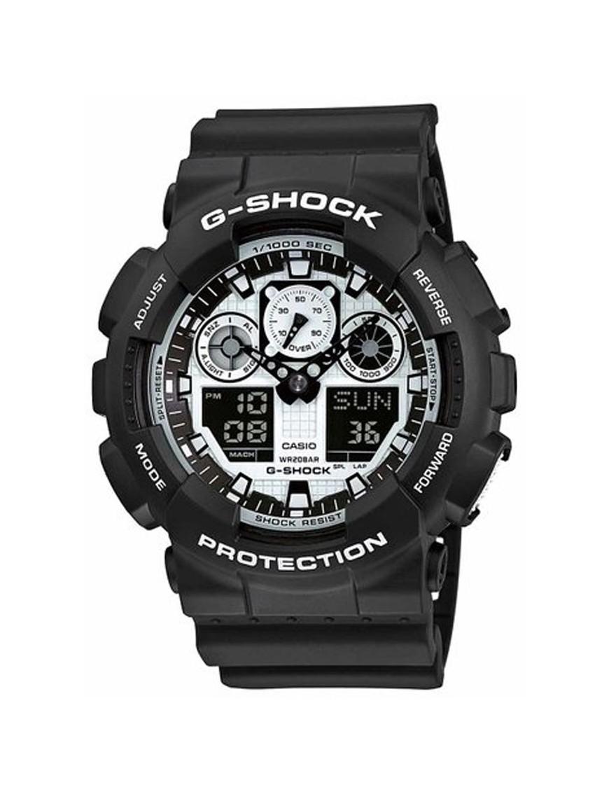 Cronógrafo Shock Hombre G Reloj Casio Ga 1aer 100bw MVGzUpqS