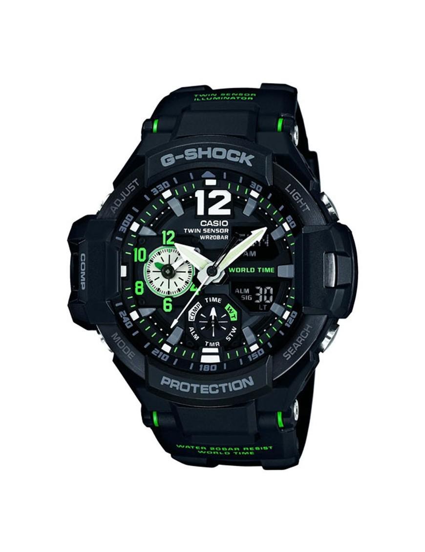 Reloj Casio G-Shock cronógrafo hombre GA-1100-1A3ER