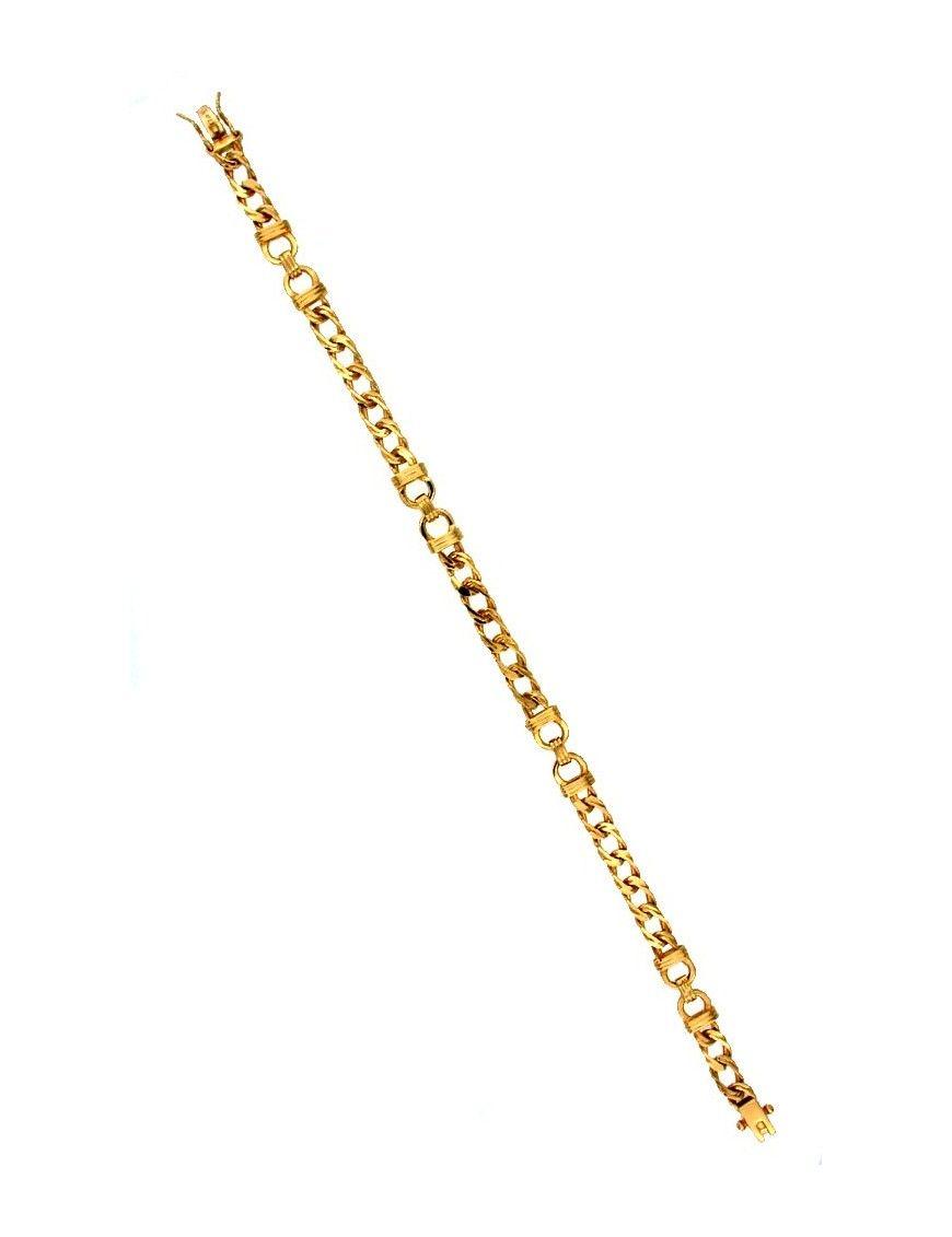 Pulsera Oro 18Kts mujer 0091-PA