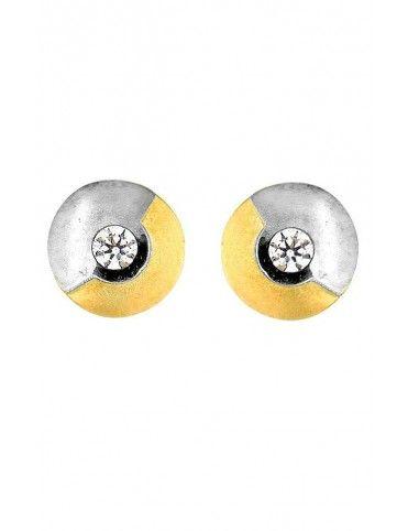 Comprar Pendientes Oro blanco y amarillo 18Kts niña 54753-P/X/CI online