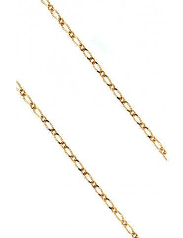 Comprar Cadena Oro 18Kts figaro mujer ALT.B.1+1 35X50 online