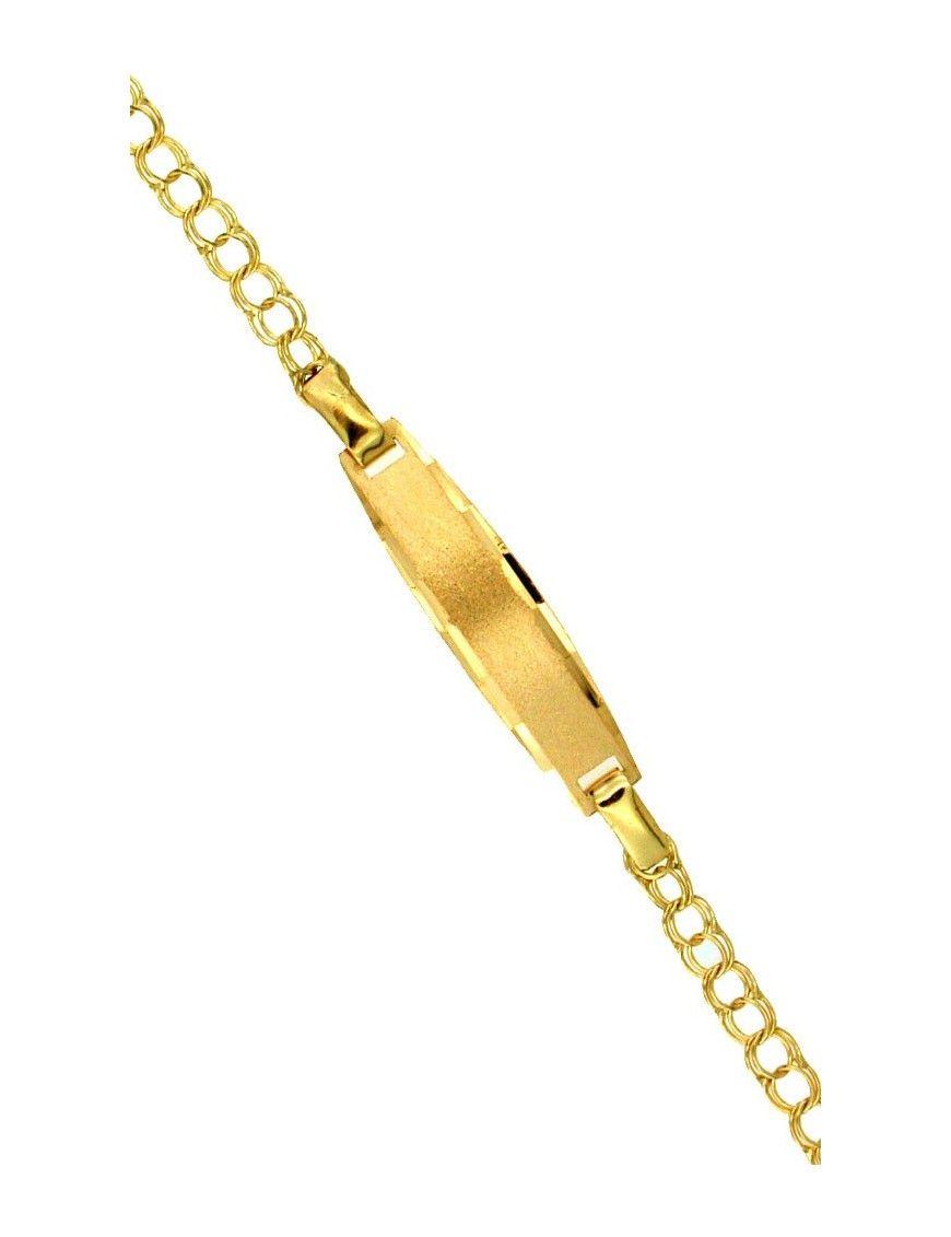 Pulsera Esclava Oro 18Kts niña 7411
