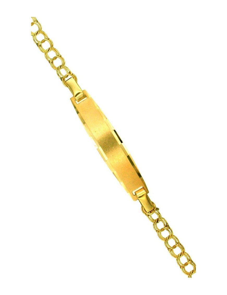 Pulsera Esclava Oro 18Kts niña 7422