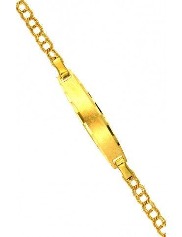 Pulsera Esclava Oro 18Kts niña 7423
