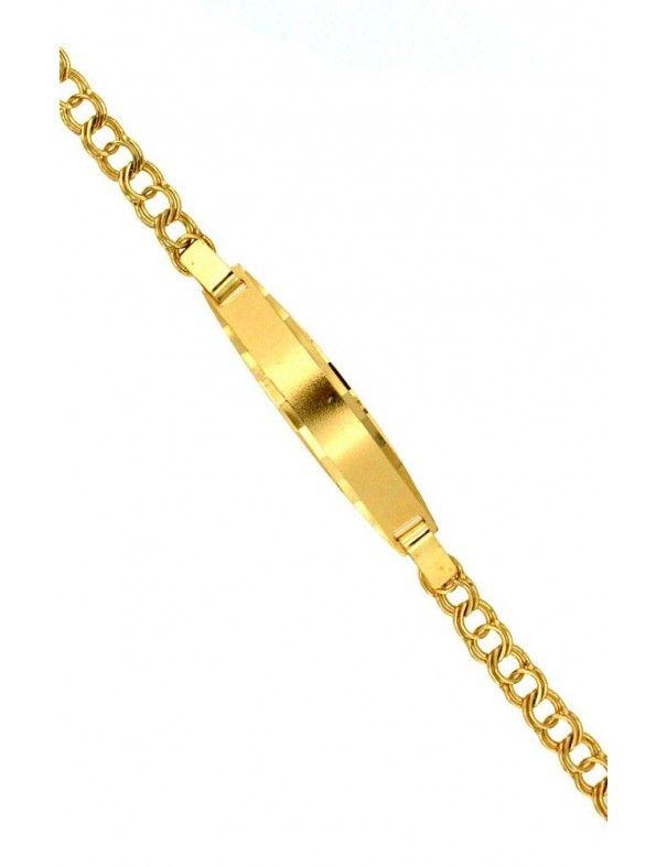 Pulsera Esclava Oro 18 Kts 7435