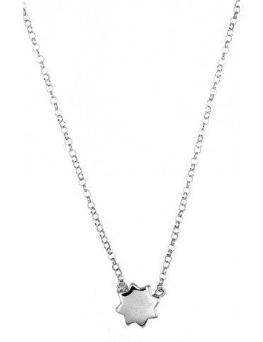 Collar Plata Estrella niña 023204-1-1