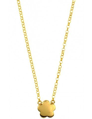Collar Plata Flor niña 023205-2-1