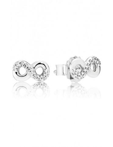 Comprar Pendientes Pandora plata Amor Infinito 290695CZ online
