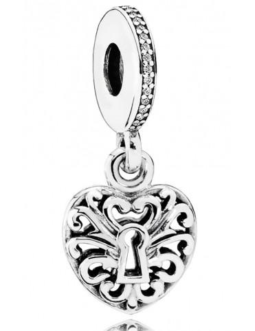 Comprar Charm Pandora plata Candado de Amor 791876CZ online