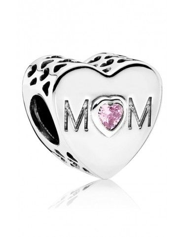 Comprar Charm Pandora plata Corazón Mum 791881PCZ online