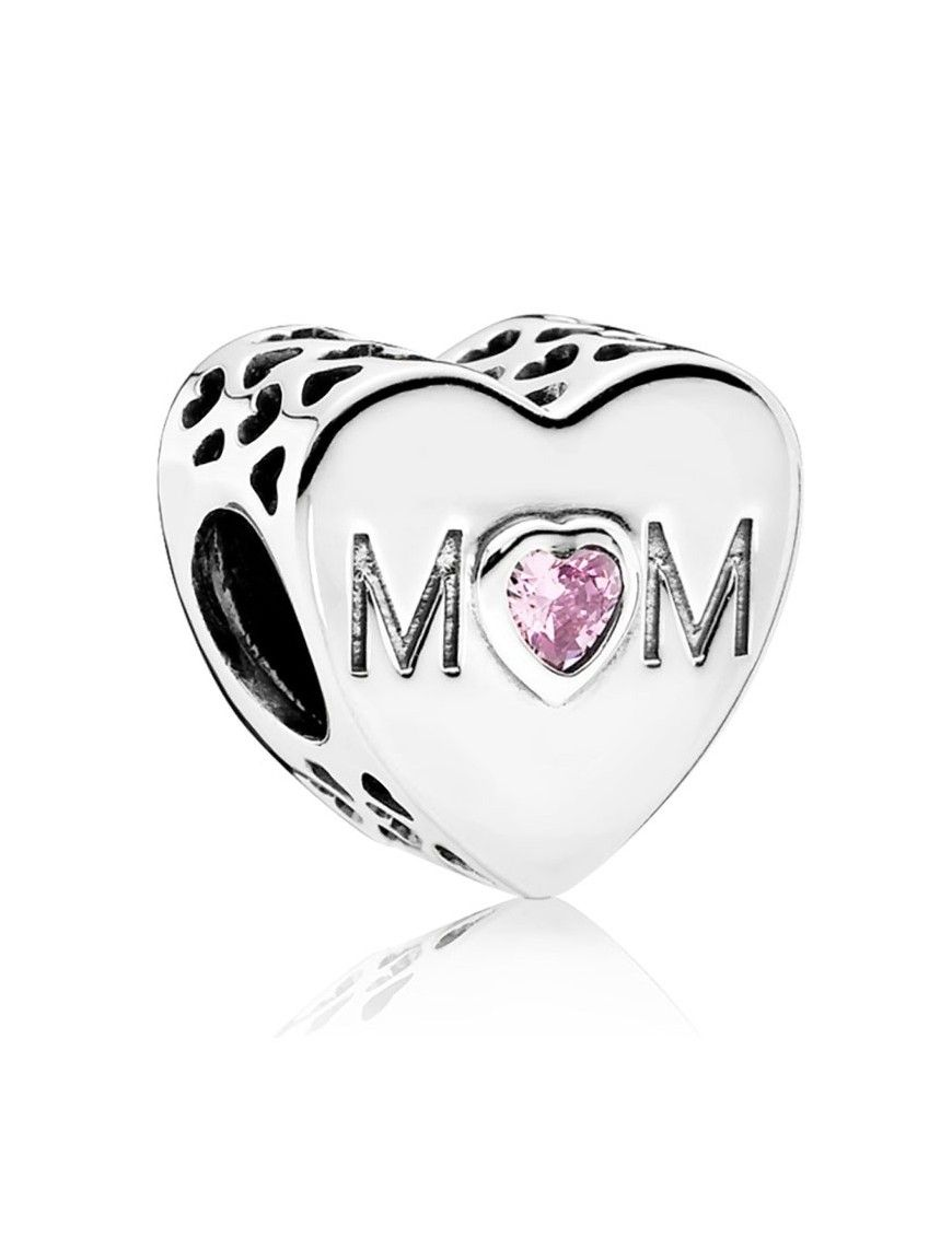 Charm Pandora plata Corazón Mum 791881PCZ