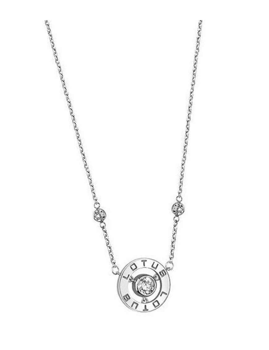 Collar Lotus Silver plata mujer LP1545-1/1