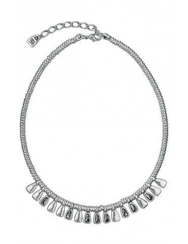 Collar Uno de 50 metal mujer Glamatic COL1027GRSMTL0U