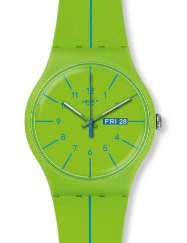 Reloj Swatch unisex Verde Azul SUOG707