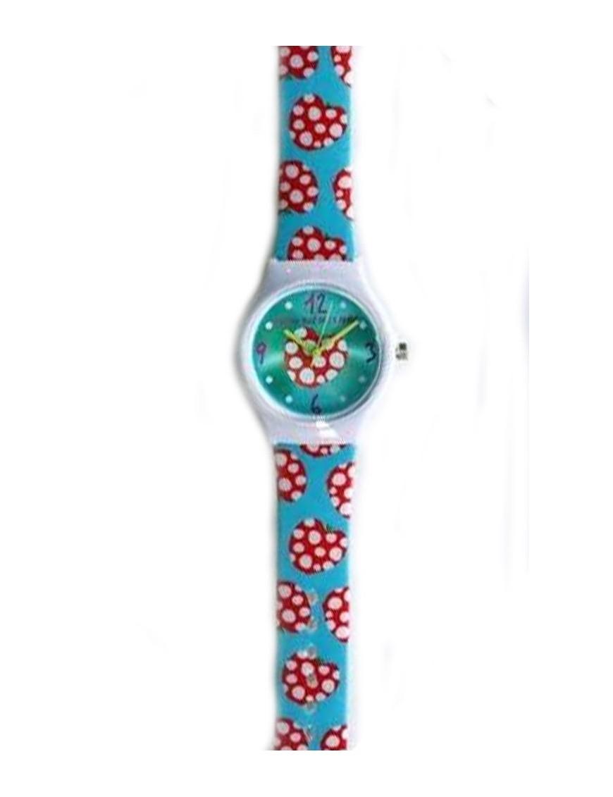 Reloj Agatha Ruiz de la Prada Flip niña Manzanas Pequeño AGR144