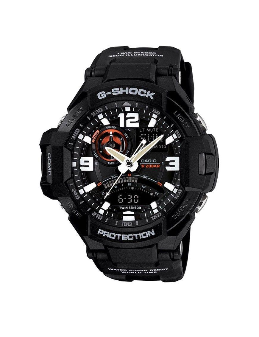 Reloj Casio G-Shock cronógrafo hombre GA-1000-1AER