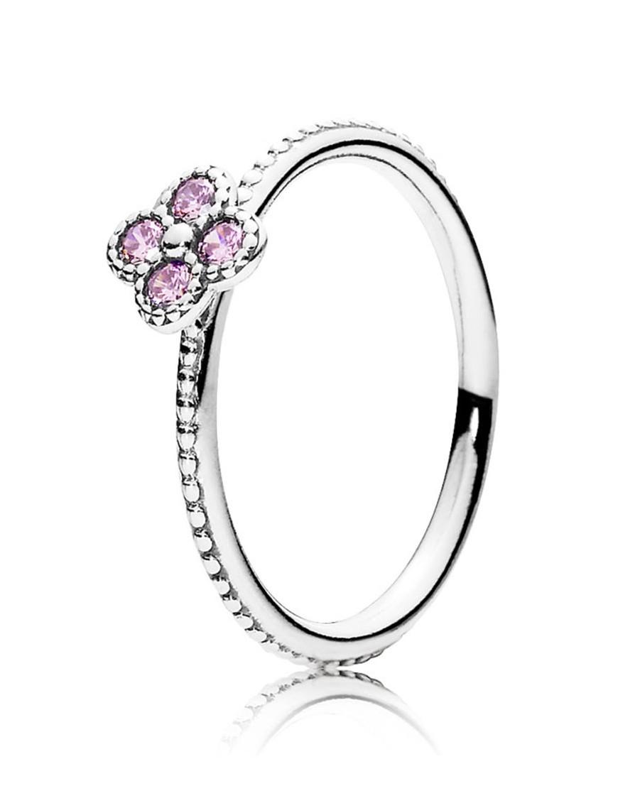 anillo pandora rosa