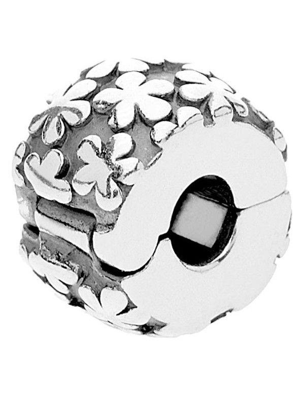 Charm Clip Pandora Plata Flor 790533