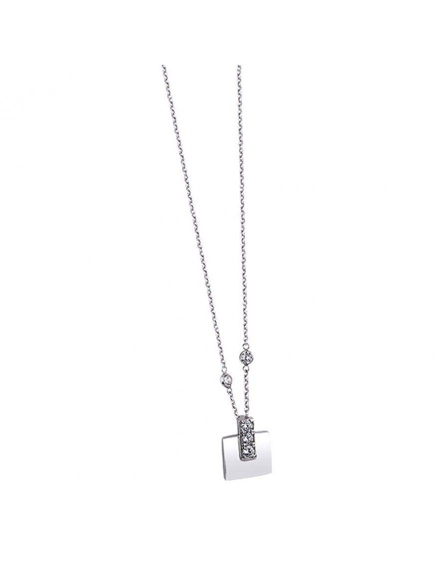 Collar Lotus Silver plata Mujer LP1543-1/1