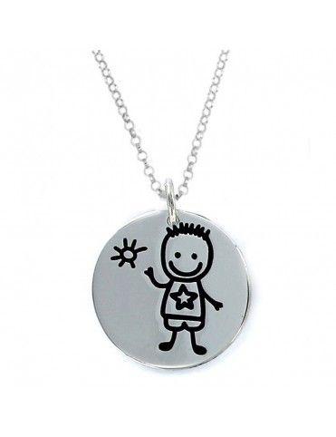 Comprar Collar plata Mujer Niño 9093504&CHAIN online