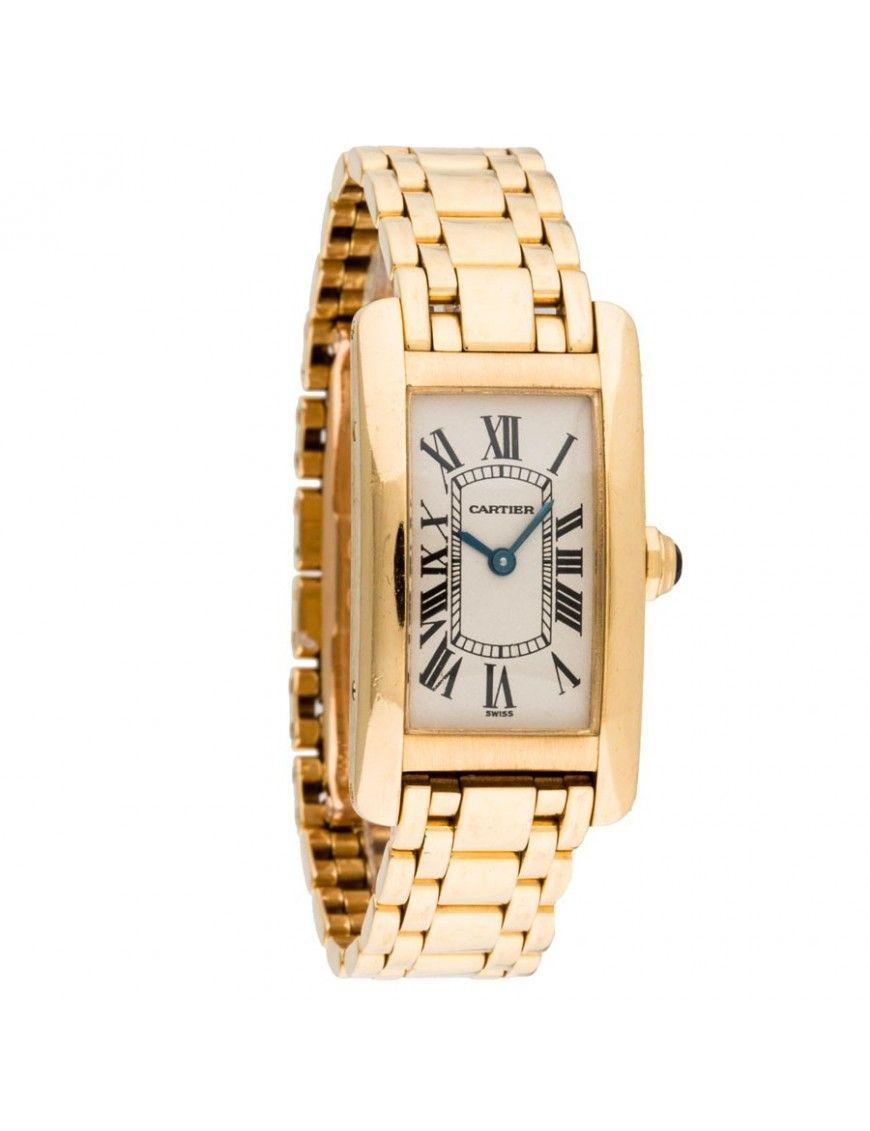 4ab1a2e43e7e Reloj Cartier Tank Americane Mujer W26015K2. Reloj Cartier para mujer