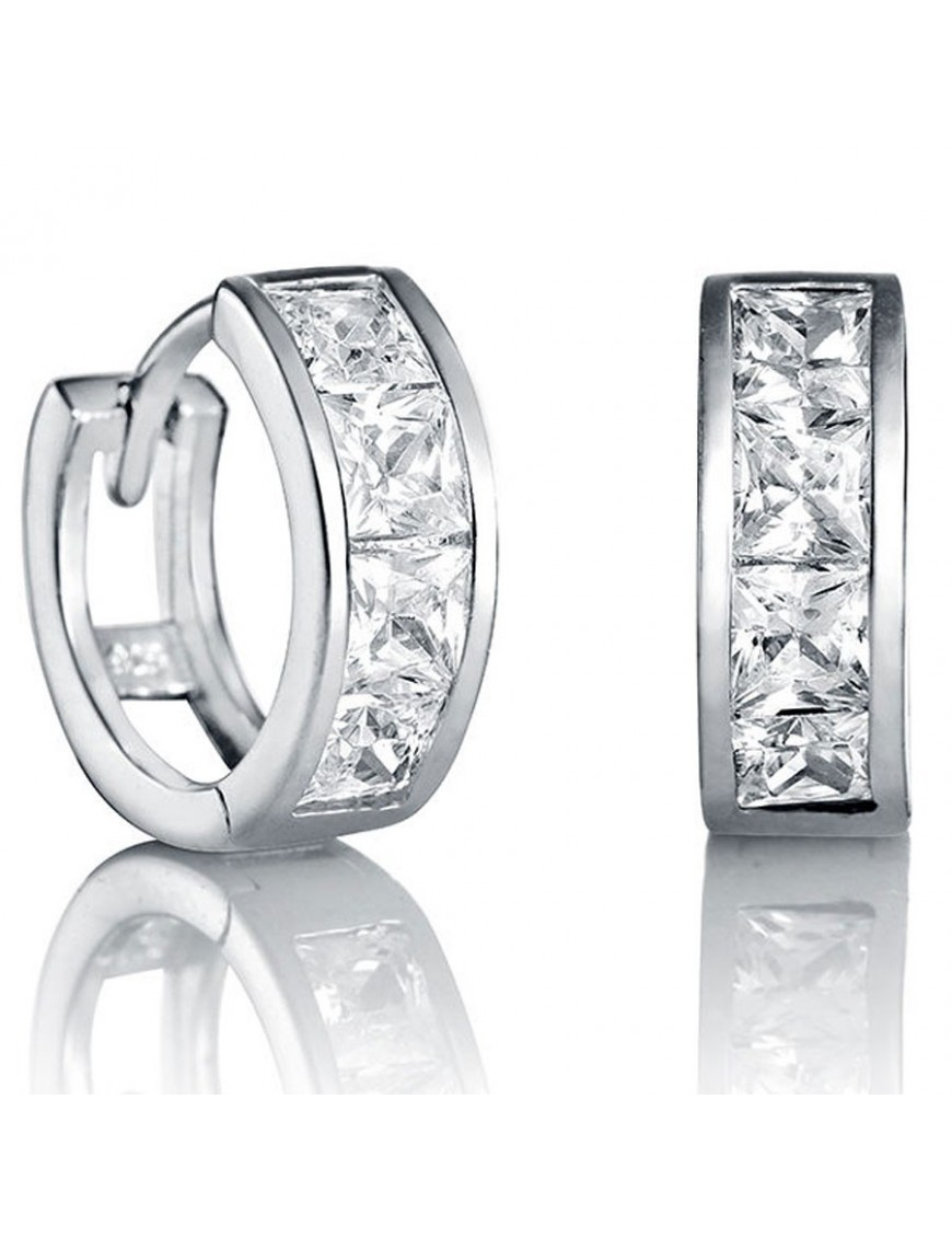 Pendientes Viceroy Plata Mujer 21014E000-30