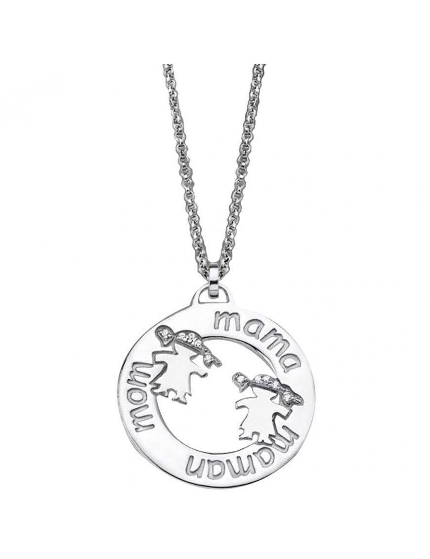 Collar Lotus Silver Plata Mujer LP1582-1/1