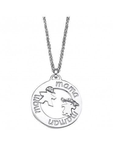 Collar Lotus Silver Plata Mujer LP1582-1/3
