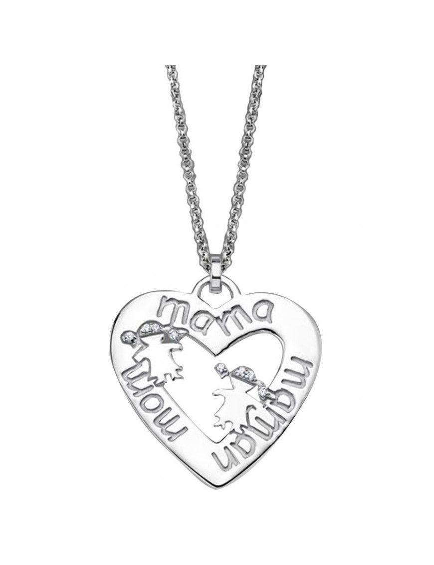 Collar Lotus Silver Plata Mujer LP1583-1/1
