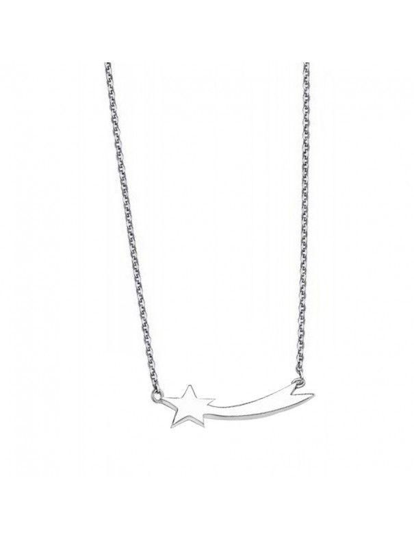 Collar Lotus Silver Plata Mujer LP1587-1/1