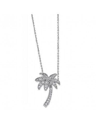 Collar Lotus Silver Plata Mujer LP1588-1/1