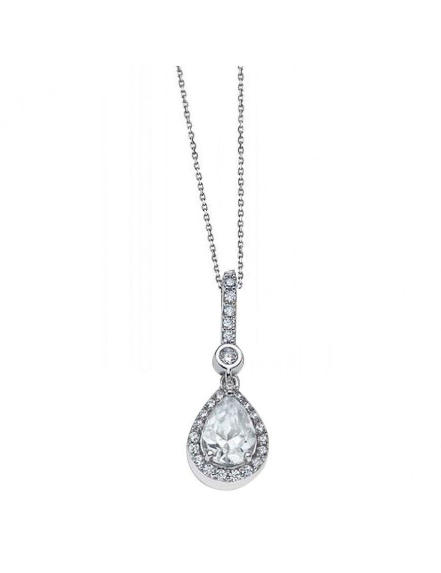 Collar Lotus Silver Plata Mujer LP1592-1/1