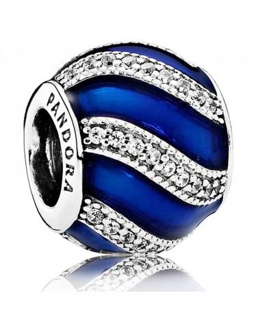 Comprar Charm Pandora Plata Adorno Esmalte Azul 791991EN118 online