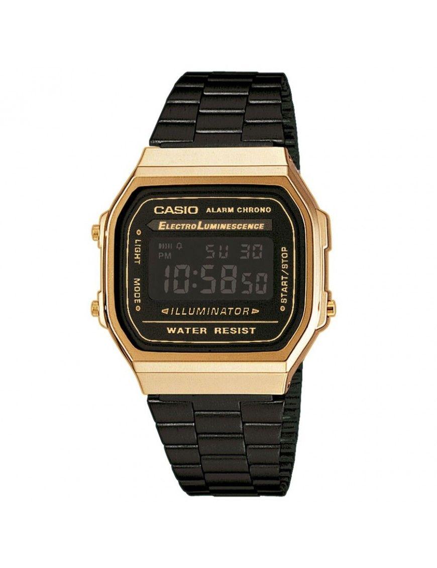 Reloj Casio Unisex A168WEGB-1BEF